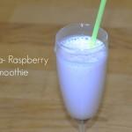 banana-raspberrysmoothie
