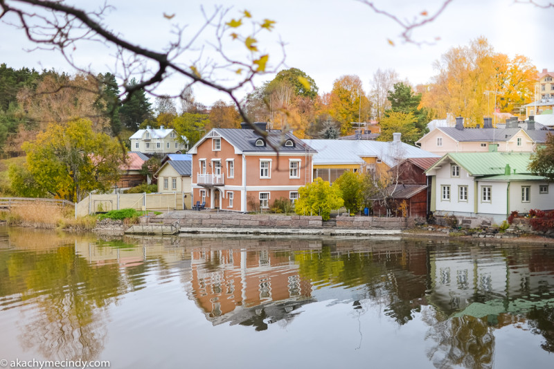 Old Town, Porvoo In Autumn